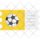 Ticket Soccer Football Icon