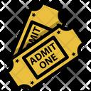 Ticket Entertainment Theater Icon
