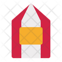 Ticket Tent Party Icon