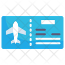 Ticket Tourism Boarding Pass Icon