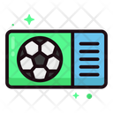 Soccer Lineal Color Icon