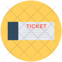 Ticket Travelling Pass Icon