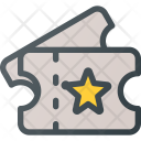 Ticket Pass Entry Icon