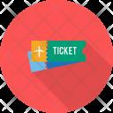 Ticket Trip Object Icon