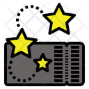 Ticket Barcode Icon