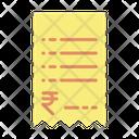 Ticket Bill Icon