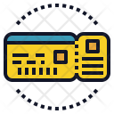 Ticket Boarding Icon