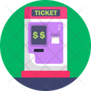 Public Transport Ticket Booth Icon