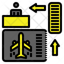 Aviation Boarding Airport Icon