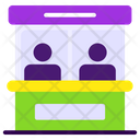 Ticket Counter Ticket Booth Ticket Office Icon