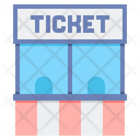 Ticket Counter Ticket Window Ticket Booth Icon