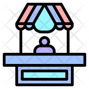 Stand Ticket Office Icon