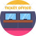 Public Transport Ticket Office Icon