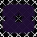 Ticket Star Ticket Vip Pass Icon