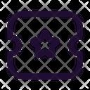 Ticket Star Icon