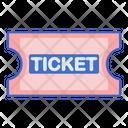 Ticketing Raffle Stub Icon