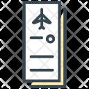 Tickets Plane Airplane Icon