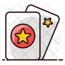 Tickets Ticket Star Cards Icon