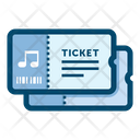 Tickets Concert Ticket Concert Icon