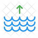 Tide Up Arrow Icon