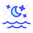 Tide Cloud Weather Icon