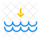 Tide Down Arrow Icon