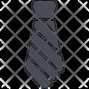 Business Dress Tie Icon