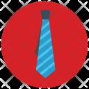 Striped Tie Icon