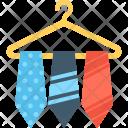 Tie Hanger Icon