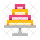 Tiered Cake Icon