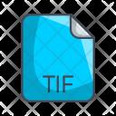 Tif Image File Icon