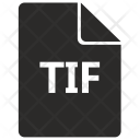 Tif File Format Icon
