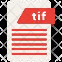 Tif Format File Icon
