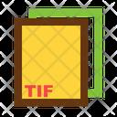 Tif Ile Format Icon