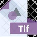 Tif File Tif File Format Icon