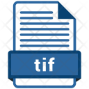 Tif File Formats Icon