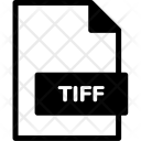 Tiff Format Document Icon