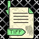 Tiff Document Format Icon