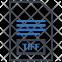 Tiff Document File Icon