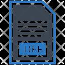 Tiff File Document Icon