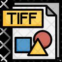 Tiff File File Folder Icon