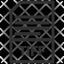 File Format Tiff Icon