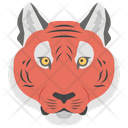 Tiger Leopard Wild Animal Icon