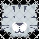 Tiger Siberian Icon