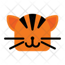 Tiger Leopard Tiger Face Icon
