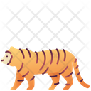 Tiger Zoo Animal Icon