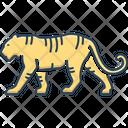 Tiger Danger Aggressive Icon