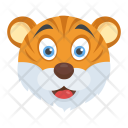 Lion Face Cub Icon