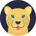 Tiger Solitary Cat Icon