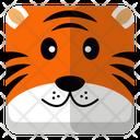 Tiger Animal Wildlife Icon